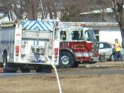 chimney fire. april 2009