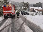 snow calamity 16/10/2009 in Czech Republic