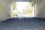 Deep coal in underpass