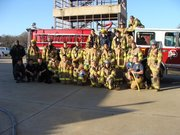 Dallas Fire Rescue Explorers Jan 2nd 2010