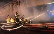 Union City Explosion, Fire