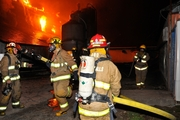 pork farm fire in quebec canada