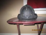 Phenix Leather Fire Helmet