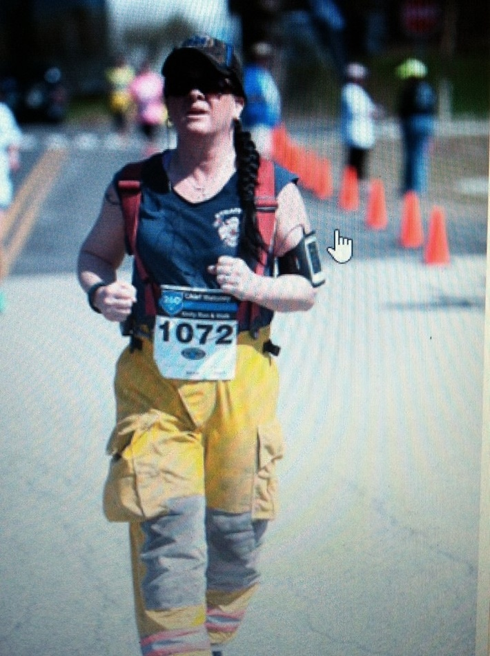 Strafford Firefighter Bickford running for fallen brothers