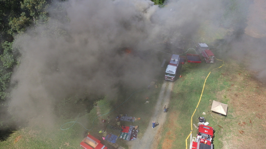 TRANING BURN FROM A DRONES POINT OF VIEW.
