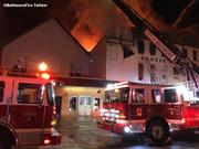 Baltimore, Fells Point Fire