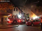 Baltimore, Fells Point Fire