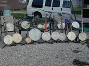 Array of banjos