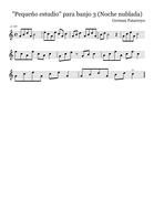 Pequeño estudio para banjo 3 (Noche nublada)