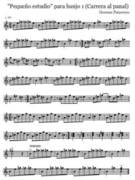 Pequeño estudio para banjo 1 (A race to the honeycomb)