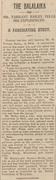 Feb 8 1930, The Bath Chronicle and Herald. Richard Tarrant Bailey on the Balalaika