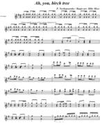 Ah you, Birch Tree (Banjo Arr Moss) Page 1