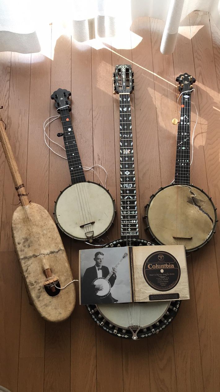 Ngoni,  S.S.Stewart,  W.Temlett Zither Banjo