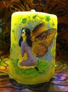 Fairy Candle - Yellow
