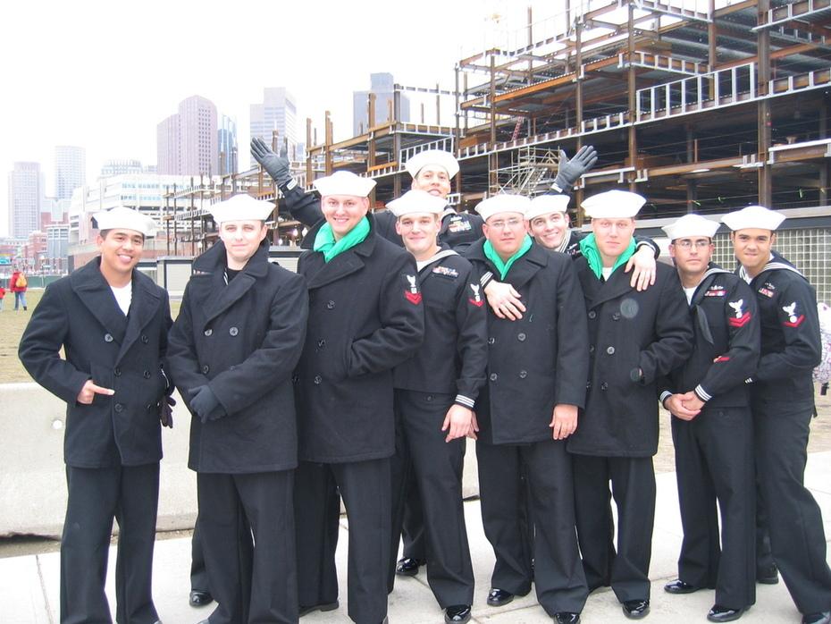 Sailors in Port