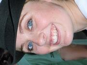 Sara Jane being happy :)