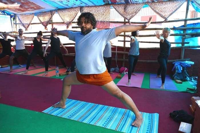 best yoga teachers alpesh goa dharamshala