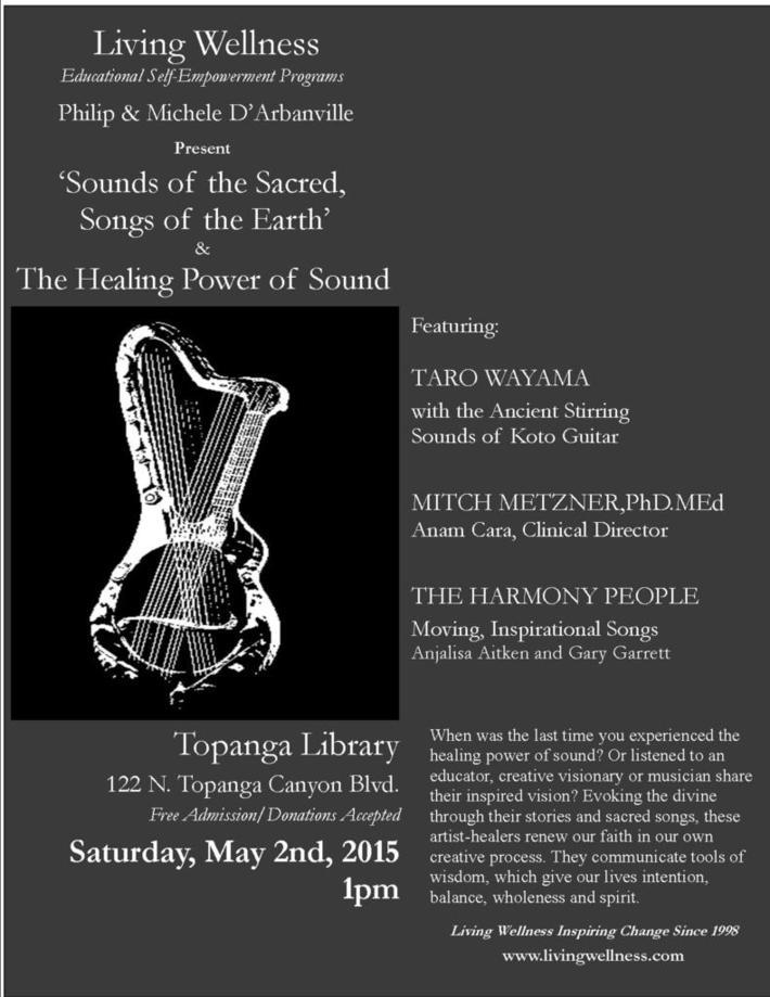 0 LWF Poster KOTO GUITAR Topanga Library May 2nd 2015 FINAL1 4-6-15
