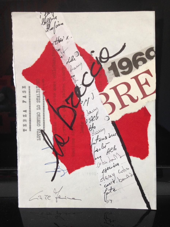 """Cinzia Farina - """"la breccia"""", per """"1968"""" a cura di Domenico Severino"""