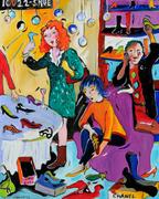 84. Saks' Shoe Salon