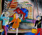 89. Spiderman at Madame Toussaud's