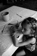 Maddie and the coloring book