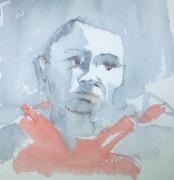 watercolor of islander