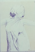 Dancer (self portrait)