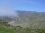 The Fog Clearing over Muir Beach