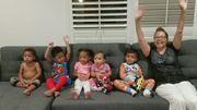 Baby Makes 5 Grandchildren