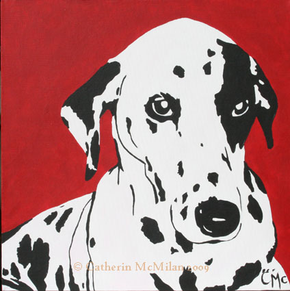 Gypsy Pop Art Pup - SOLD