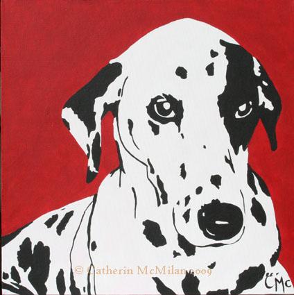 Gypsy Pop Art Pup - SOLD