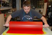 Kick Ass printing BIG roller