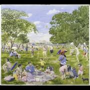 Watercolors - Park Scenes
