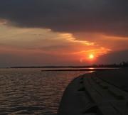 Waveland Sunset