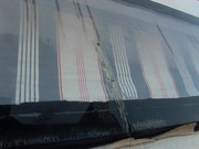cracks glued with 2 compound glass