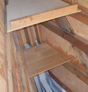 Canoe stern shelves