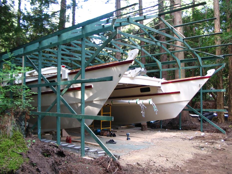 224. Building shed dismantle