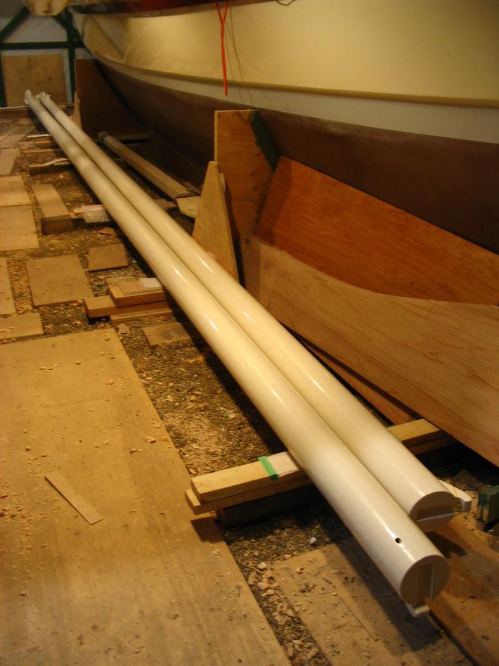 215.Masts finished