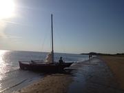 Hitia 17 on the Beach.