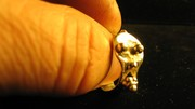 All Sterling Silver SCREAM RING
