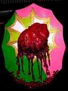 Bleeding Heart Plaque