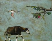 Okapi and apple tree 8-24-2010 4-24-37 AM 2604x2049 8-24-2008 4-24-37 AM 2604x2049