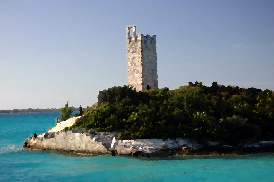 blue lagoon tower