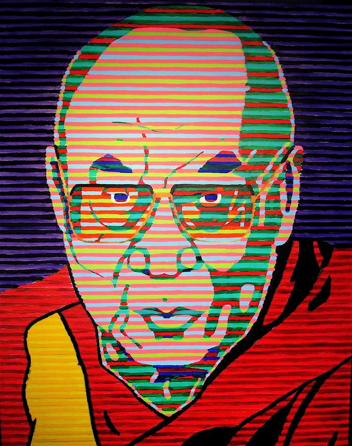 Dalaï-Lama on TV...