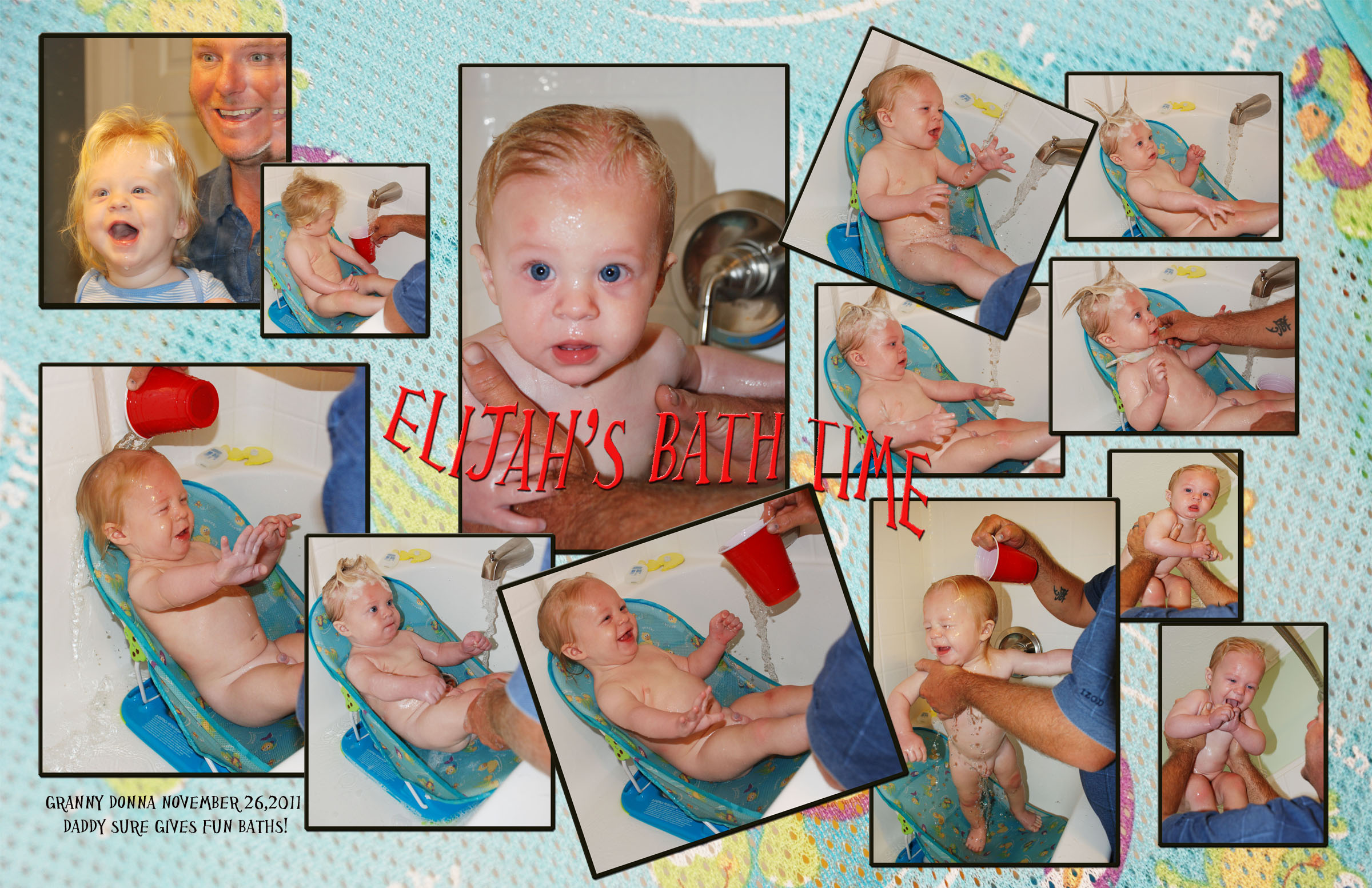 Eli's Bathtime