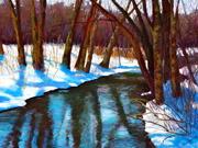 Winter at the Herring Run