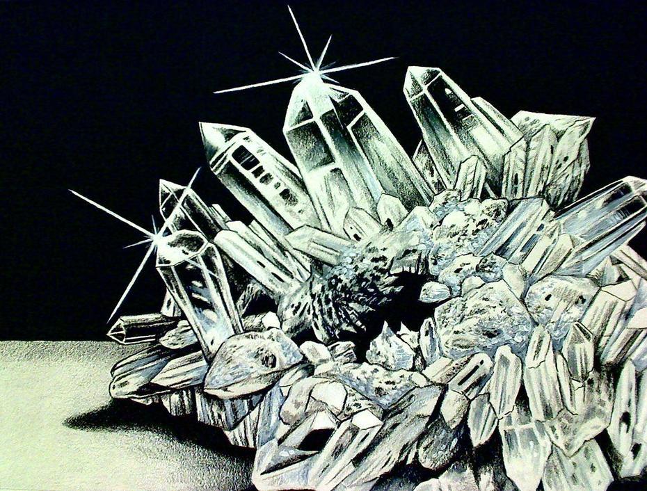 White Quartz Crystal