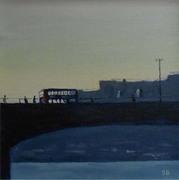 Waterloo bridge. London.