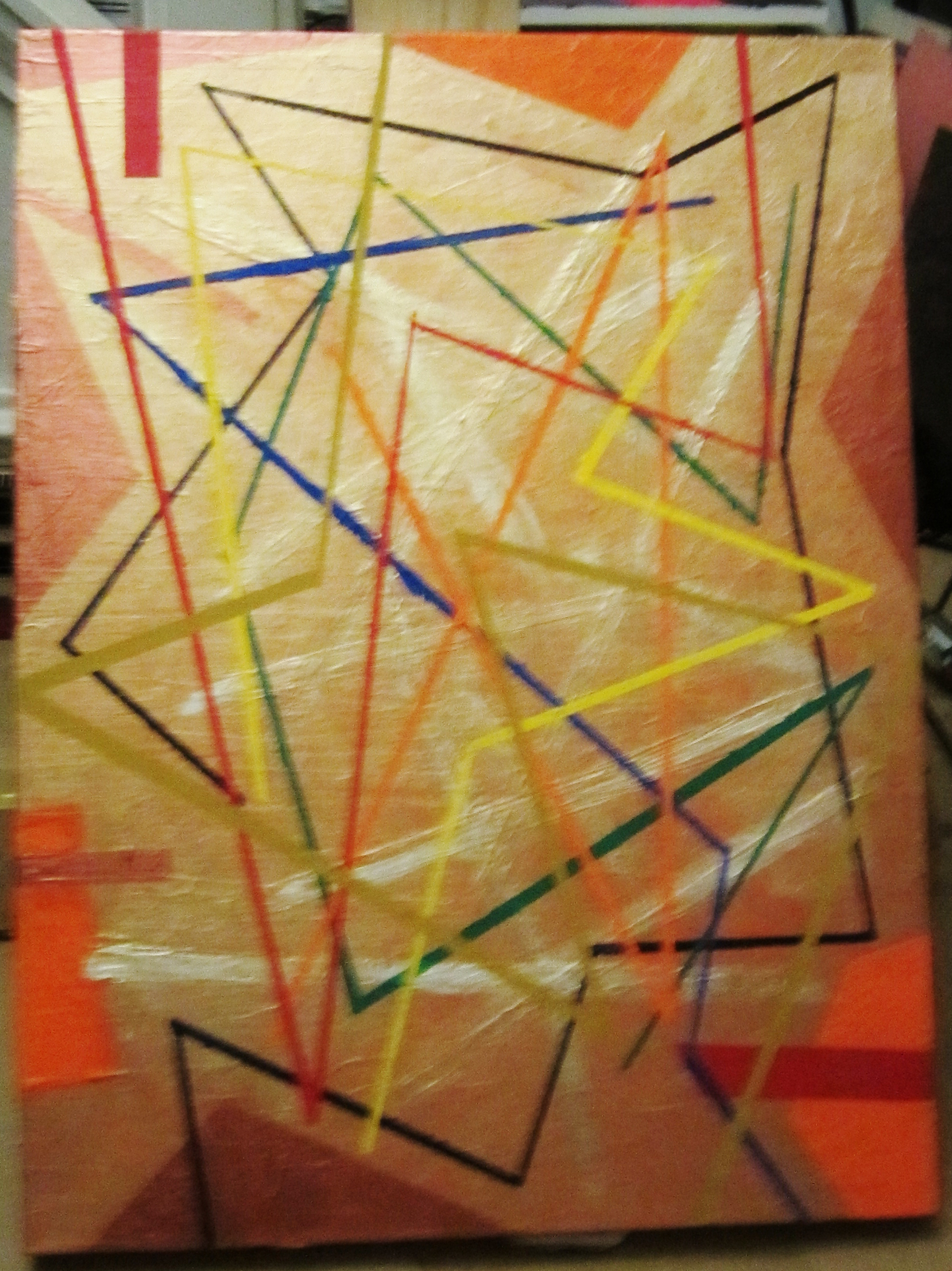 Untitled 30 x 24 acrylic